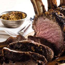Roast Beef with Wholegrain Mustard