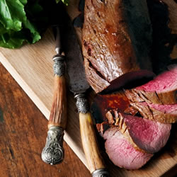 Sweet Spiced Roast Beef