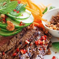 Vietnamese Beef and Glass Noodle Salad
