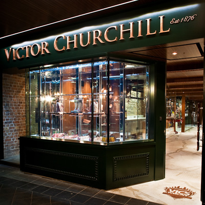 Victor Churchill, 132 Queen Street, Woollahra, NSW