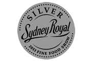 Silver Medal Sydney Royal Fine Food Show 2011
