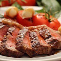 BBQ Cape Grim Beef Rump with Tomato, Basil and Bocconcini