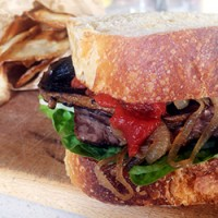 Father's Day Steak Sandwich by Alice in Frames