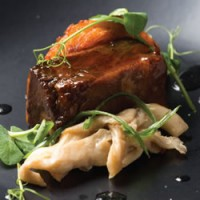 Korean-Braised Cape Grim Beef Short Rib With Kimchi Roesti