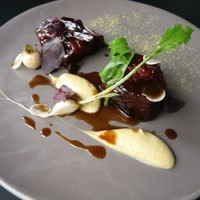 Cape Grim Brisket w. pickled cabbage & mustard