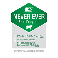 Never Ever Beef Program